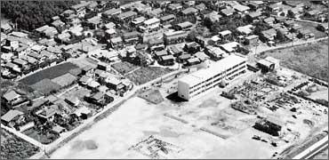 昭和47年、大和田地区の写真