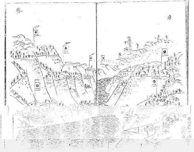 印旛沼掘割り工事の資料