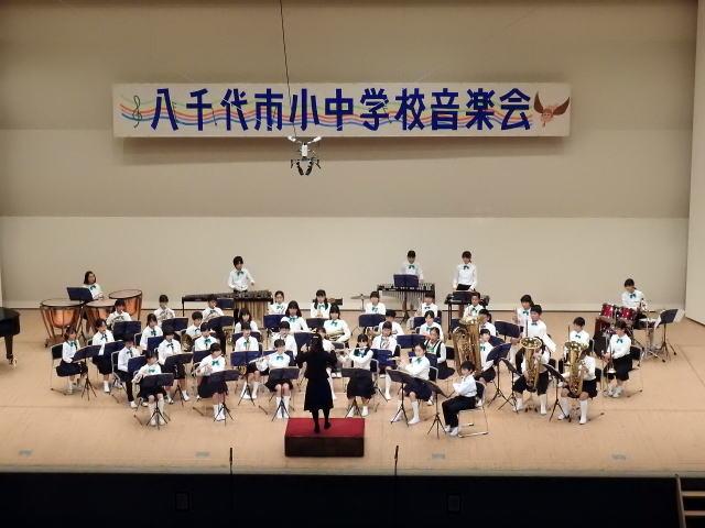 11月9日 小中学校音楽会