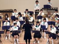 小中学校音楽会 中央の演奏