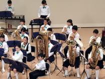 小中学校音楽会 右側の演奏
