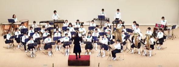 音楽祭吹奏楽部の演奏