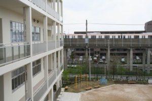 写真:校舎から見た風景2