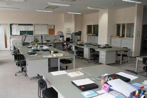 写真:職員室