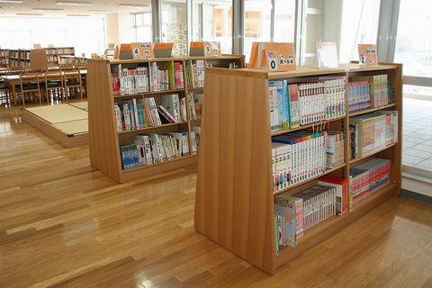 写真:図書室入口
