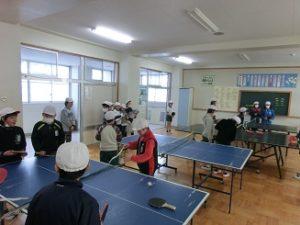 卓球クラブ、活動の様子