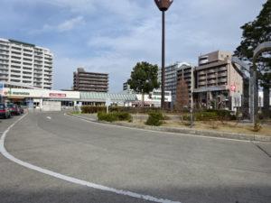 八千代中央駅前ロータリー