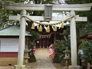 飯綱神社の鳥居