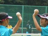 女子テニス部の様子2