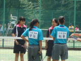 女子テニス部の様子4