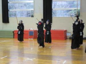 剣道部の様子1
