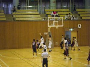 男子バスケット部の様子3