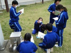 グループ活動で協力しています!素敵な笑顔をありがとう!!