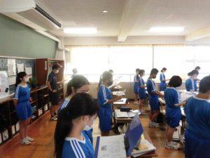 歌えない時期が長かったですが,こうやって先輩と一緒に歌うと安心して歌えます。