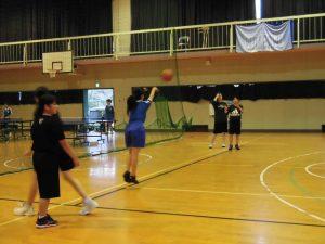 女子バスケ部は,今週末に新人戦が控えています。