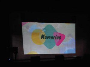 最後には,睦仲祭活動のメモリームービーで,今までを振り返りました。