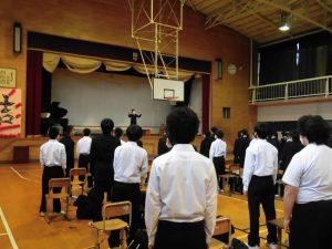 6時間目は音楽会の準備でした。全校合唱も練習しました。