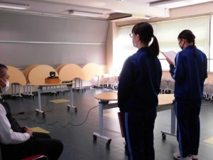 こちらはテスト終了後のICT教室です。