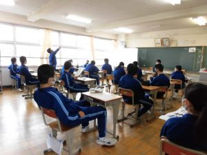 1週間ぶりの教室は,やっぱり温かくて楽しい。