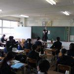 2年A組の担任は関先生!入学式準備の確認を全員でしました。